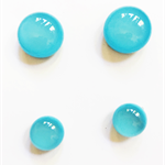 Mummy and Me Aqua Fused Glass Earring Sets